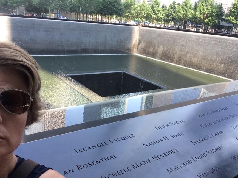 911 Memorial Selfie