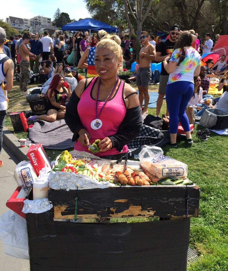 Dolores Park Vendor