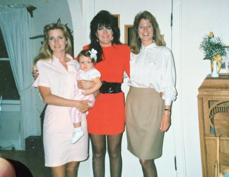 Me, Toni and Sharon