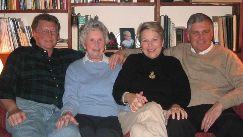 2002 Grandma with her 3 kids