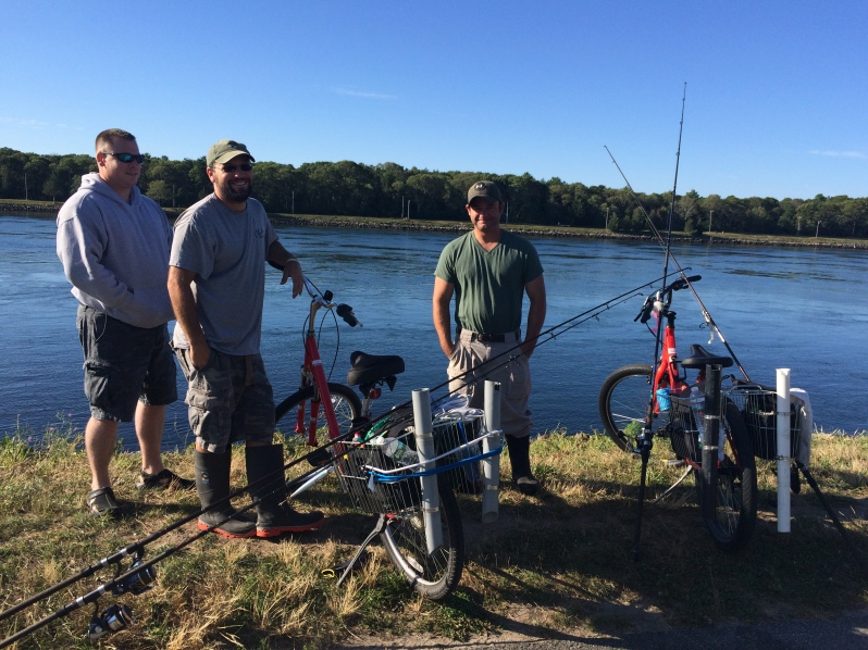 Bikes and Fishermen