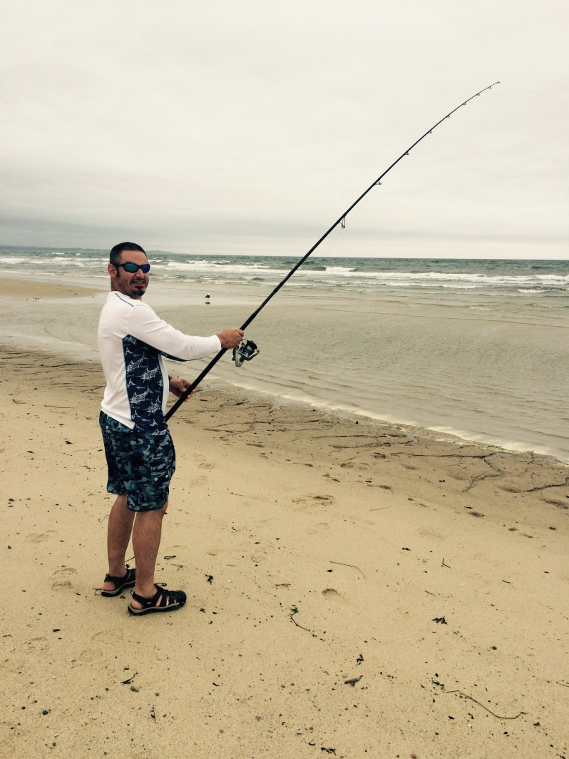 Scusset Beach Fisherman