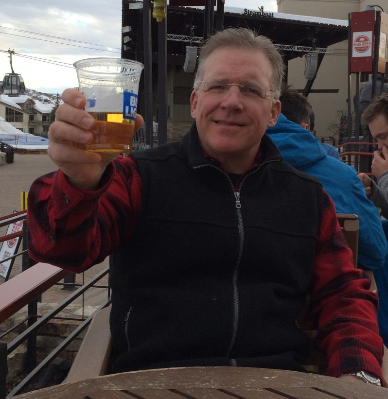 Todd Toasting in Steamboat