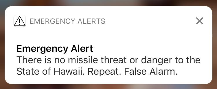 Molokai - False Alarm