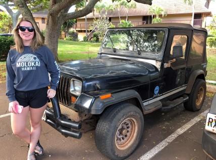 Molokai jeep
