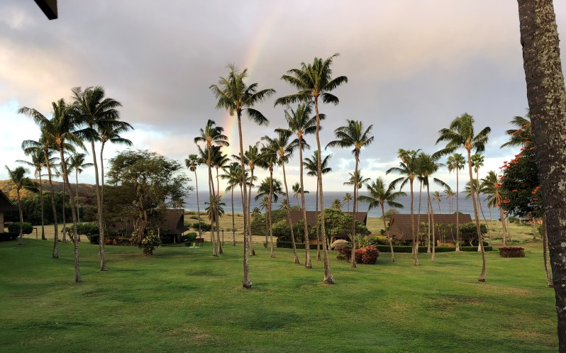 Molokai - Lanie view-Rainbow