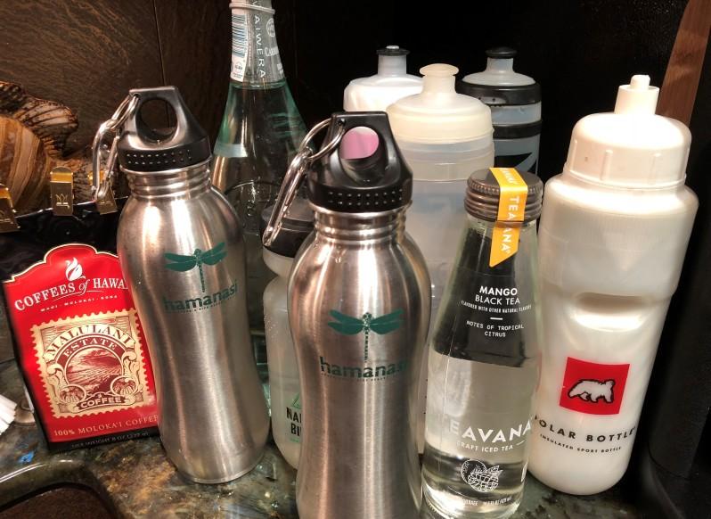 Molokai - water bottles