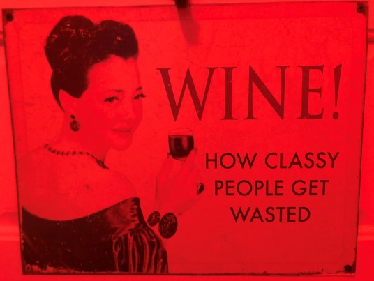 Wine - classy people