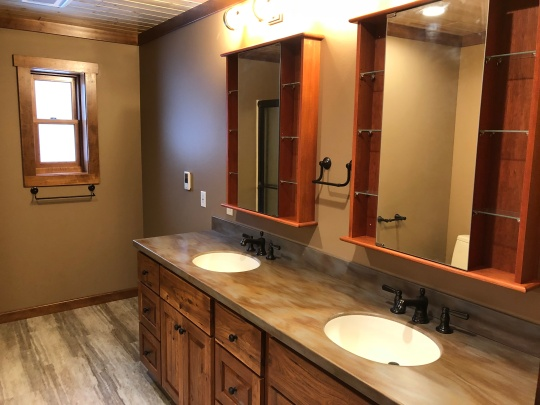 move in - master bath